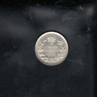 1905 CANADA SILVER 5 CENTS