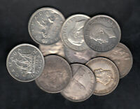 1935 52 CANADA SILVER DOLLARS COLLECTION LOT OF 10 DIFFERENT