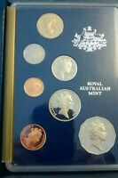 1986  AUSTRALIA PROOF SET  8 COINS