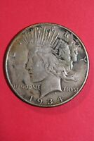 1934 D VAM 3 R4 DOUBLED OBVERSE PEACE SILVER DOLLAR FLAT RATE SHIPPING OCE 285