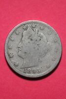1895 LIBERTY V NICKEL EXACT COIN SHOWN FAST FLAT RATE SHIPPING OCE247