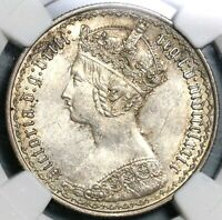 1879 NGC MS 62 VICTORIA FLORIN GREAT BRITAIN  DATE SLIVER COIN  17040603D