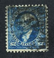 CKSTAMPS: US STAMPS COLLECTION SCOTT277 $2 MADISON USED TINY