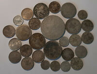 TURKEY / SILVER LOT OF 28 COINS