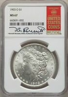 1903-O US MORGAN SILVER DOLLAR $1 - NGC MINT STATE 67