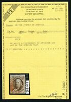 CKSTAMPS: US STAMPS COLLECTION SCOTT1 5C FRANKLIN USED WITH