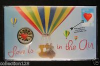 2015 AUSTRALIA COIN AND STAMP FIRST DAY COVER LOVE IS IN THE
