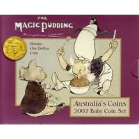 2007 ROYAL AUSTRALIAN MINT MAGIC PUDDING 6 COIN BABY MINT SE