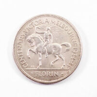 1934 5 MELBOURNE CENTENARY FLORIN   ALMOST UNCIRCULATED D6 1