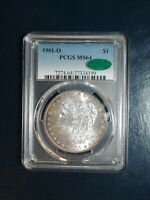 1901 O MORGAN SILVER DOLLAR PCGS MINT STATE 64 CAC NEAR GEM $1 COIN PRICED TO SELL FAST