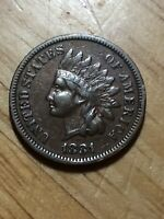 1881 INDIAN HEAD CENT - WITH LIBERTY - A BEAUTIFUL INDIAN