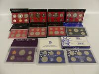 1976 2002 U.S. PROOF SET COIN LOT OF 10