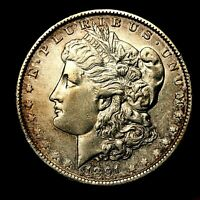 1890 P EXTRA FINE  DETAILS SILVER MORGAN DOLLAR  US OLD ANTIQUE COIN L6