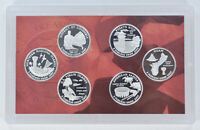 SPECIAL 90  SILVER 2009 S 6 COIN TERRITORIAL QUARTER PROOF S