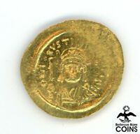 ANCIENT BYZANTINE EMPIRE JUSTINUS II  A.D. 565 578  SOLIDUS