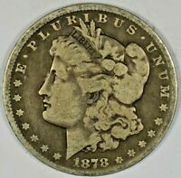 1878 SILVER MORGAN DOLLAR B641.6