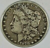 1878 SILVER MORGAN DOLLAR B641.8