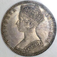 1849 NGC MS 64 GOTHIC FLORIN VICTORIA GREAT BRITAIN SILVER COIN  19072101D