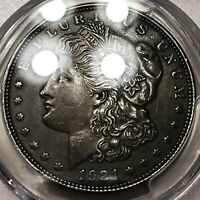 1921 MORGAN DOLLAR PCGS CERTIFIED BEAUTIFUL TONE EXCELLENT LUSTER HOT 50 VAM 1B1