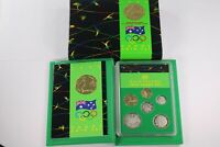 1992 ROYAL AUSTRALIAN MINT OLYMPIC GAMES EDITION 6 COIN PROO