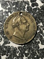 1831 GREAT BRITAIN KING WILLIAM IV & ROBERT RAIKES MEDALET LOTJM1291