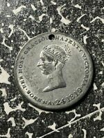 1838 GREAT BRITAIN QUEEN VICTORIA CORONATION MEDALET LOTJM1305