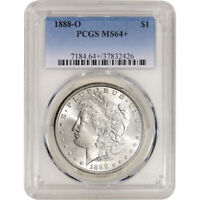 1888-O US MORGAN SILVER DOLLAR $1 - PCGS MINT STATE 64