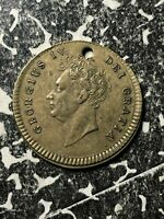 1830 GREAT BRITAIN KING GEORGE IV DEATH MEDALET LOTJM1311