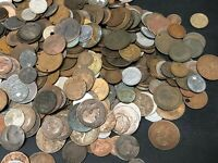 MASSIVE BULK LOT OF 500 OLDER WORLD CULL COINS 1800'S & EARL