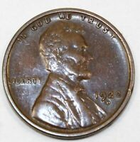 1922-D UNITED STATES LINCOLN WHEAT CENT / PENNY - AU ABOUT UNCIRCULATED
