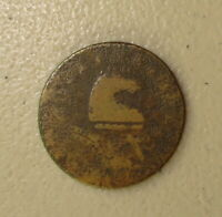 1787 NEW JERSEY COLONIAL COPPER VG DETAILS