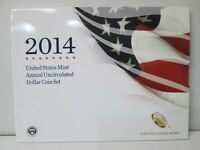 2014 US MINT ANNUAL UNCIRCULATED DOLLAR 6 COIN SET