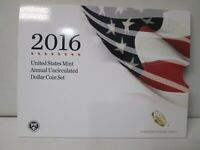 2016 US MINT ANNUAL UNCIRCULATED DOLLAR 6 COIN SET