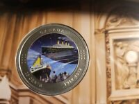 2012 CANADA COLOURED COIN SET 100 YEARS OF TITANIC.