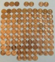 LINCOLN CENT PENNY SET 1975 2020 COLLECTION  103 COINS  CHOICE BU MEM & SHIELD