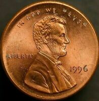 1996 BROADSTRUCK LINCOLN PENNY EXTREMELY RARE