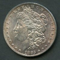 UNITED STATES 1885  A   MORGAN SILVER DOLLAR  YOU DO THE GRADING HAVE FUN