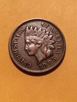 1905 INDIAN HEAD CENT PENNY GRADES EXTRA FINE   LOOKING COIN