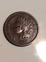 1878 INDIAN HEAD CENT PENNY