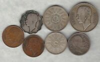 SEVEN COINS FROM IRAQ IN GOOD FINE OR BETTER CONDITION.