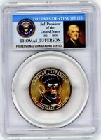 2007 -P - PCGS MINT STATE 66 - POS. A - THOMAS JEFFERSON PRESIDENTIAL DOLLAR - ERROR COIN