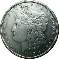 1903-P MORGAN SILVER DOLLAR FINE DETAILS ESTATE FIND - BOR