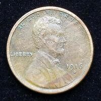 1916-D 1C LINCOLN CENT EXTRA FINE