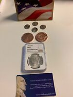 1883-O US MORGAN SILVER DOLLAR $1 - NGC MINT STATE 63 FROM EAGLE ANTIQUE, CARD AND COIN