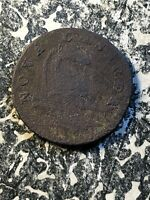 1787 NEW JERSEY COLONIAL COPPER LOTA112 CORRODED