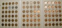 HIGHER GRADE SET 1941 1974 PDS LINCOLN WHEAT & MEMORIAL PENNY CENT G BU 90 COINS