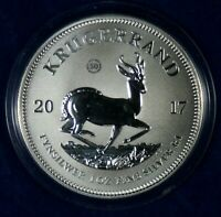2017 SOUTH AFRICA 50TH ANNIVERSARY KRUGERRAND 1 OZ. SILVER C