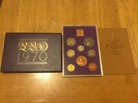 1970 UK ROYAL MINT PROOF COIN YEAR PACK SET   LAST LSD COINS ISSUED STUNNING SET