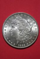 1885 P UNCIRCULATED VAM 1A1 PITTED REVERS HOT 50 R4 MORGAN SILVER DOLLAR OCE 192