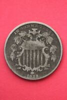 1882 SHIELD NICKEL 5 CENTS EXACT COIN PICTURED FLAT RATE SHIPPING OCE014